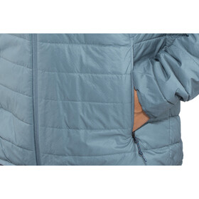 Icebreaker Hyperia Hooded Jacket Herren granite blue/prussian blue